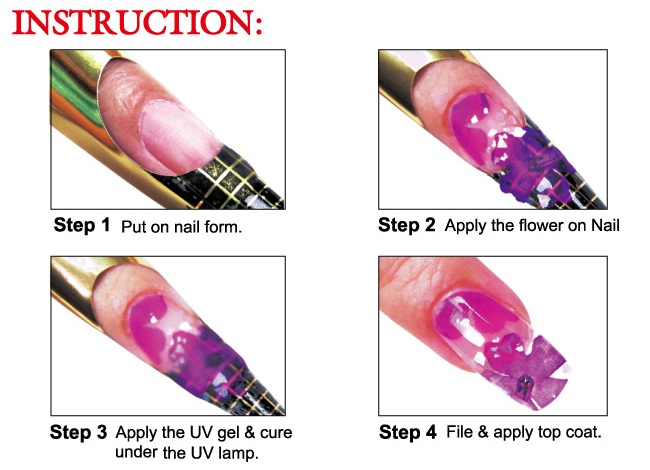 Denise Heavner Of Jefferson Ohio Shows How To Make This Mixed Media Nail Art