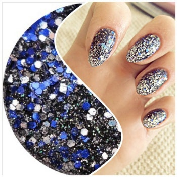 Fantasy encapsulation acrylic powder nail art blends prinsesfo Gallery