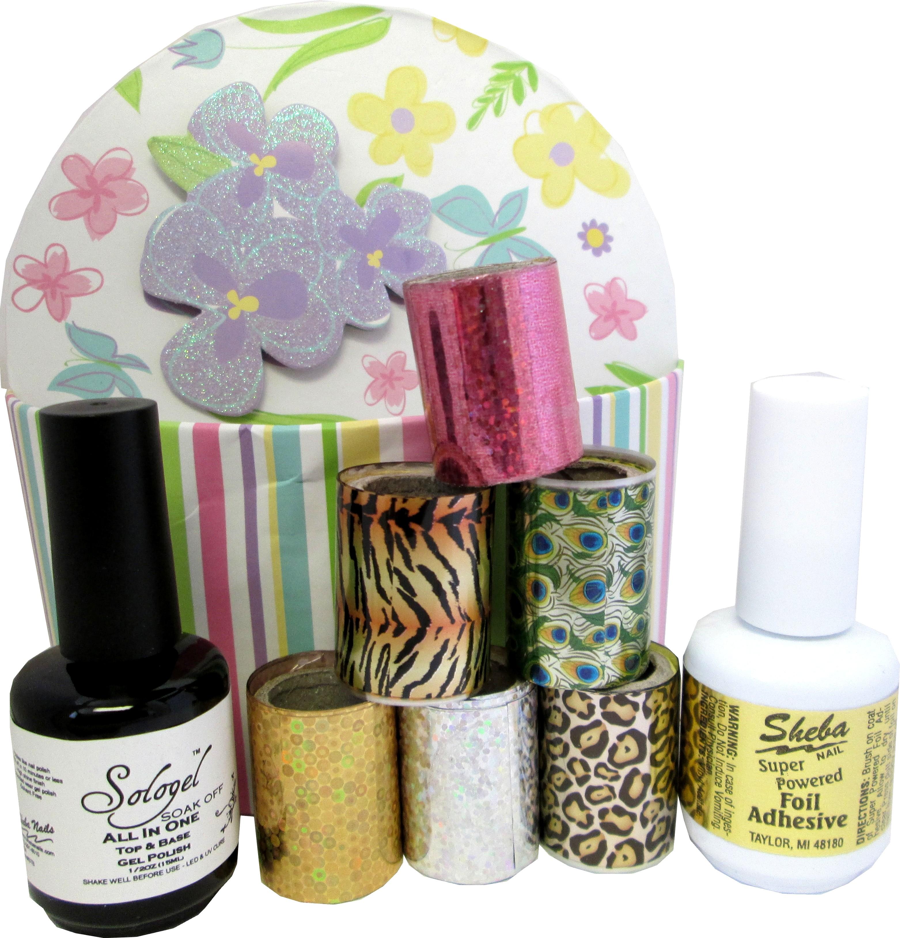 Nail Art Foil Fancy Encapsulation Kit