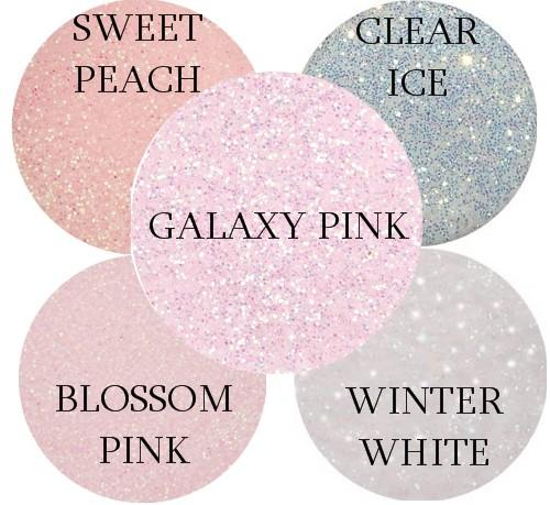 Glitterize Sparkling Acrylic Powder CLEAR ICE