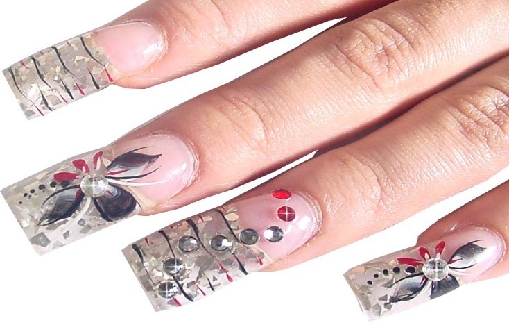 How To Create Gel Nail Art Papillon Day Spa