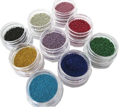 Bullion Nail Art Beads Professional Kit 705d