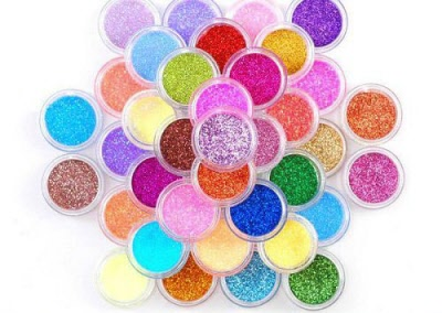 Color Acrylic Powder Try Me Pots
