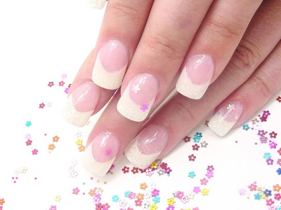 flat nail art shape flat rhinestones golden copper nail art