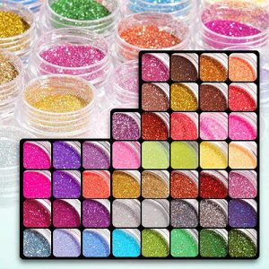 Dazzling fine nail art glitter dust prinsesfo Images