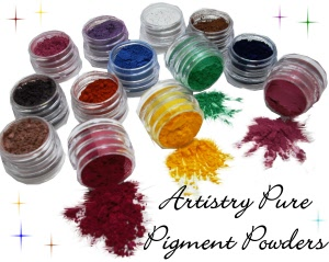 ARTISTRY PURE PIGMENT POWDERS
