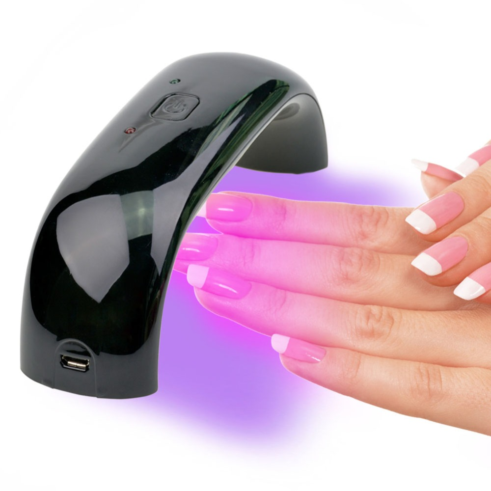 Fast Dry Time, With The Use Of LED Nail Gel, The Dry Time Is About 30  Seconds.