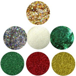 holiday glitter traditional kit